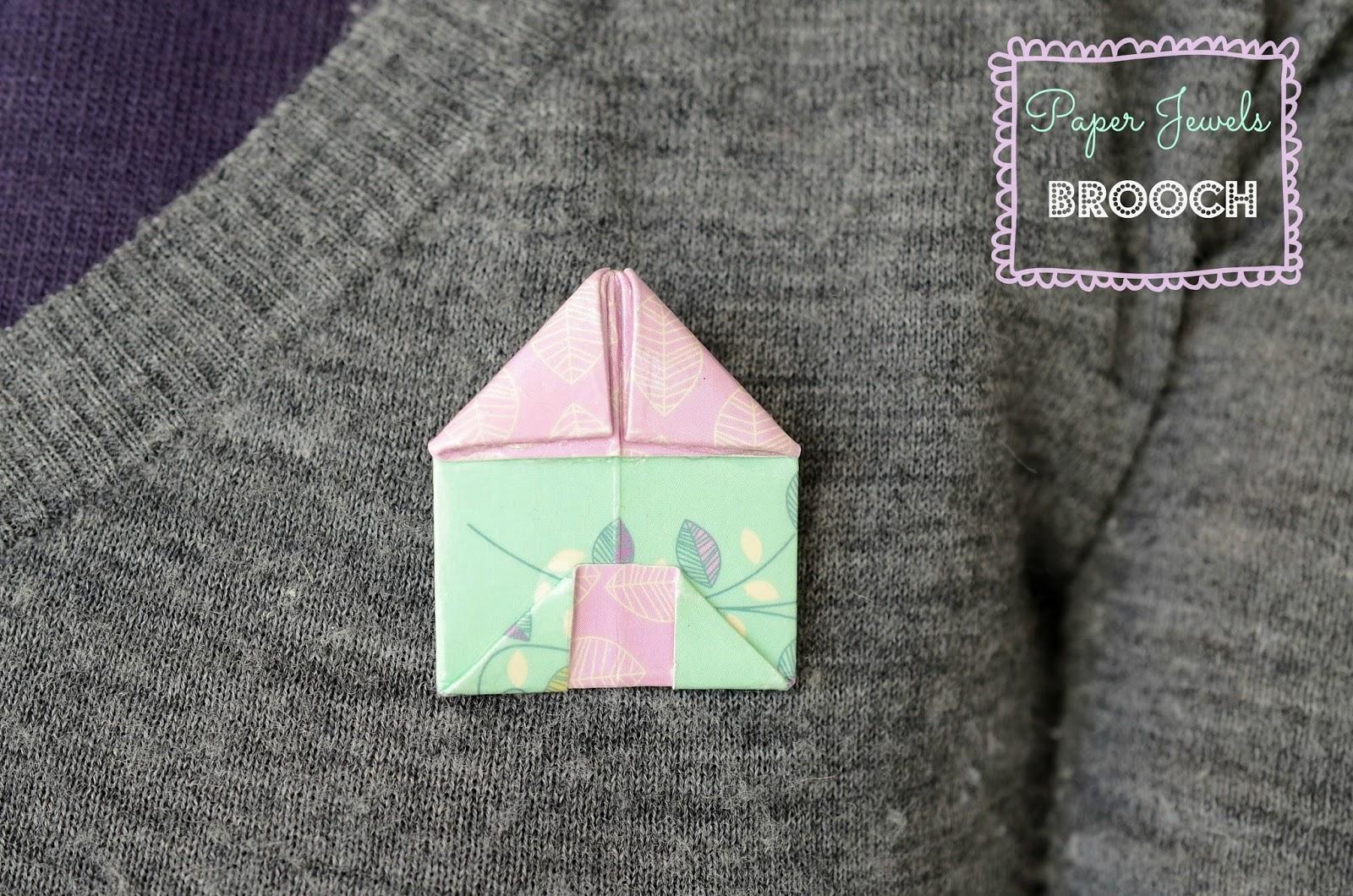 origami:paper jewels