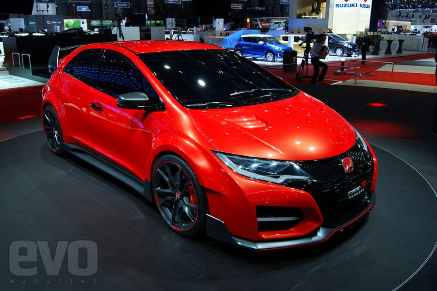 geneva 2014 honda civic type r turbo lautoshow cars. Black Bedroom Furniture Sets. Home Design Ideas