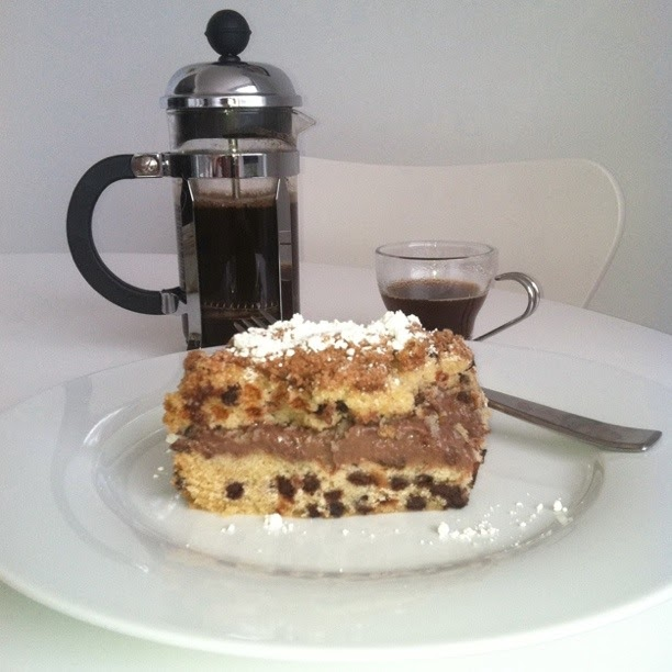 Coffee Cake Chocolate Cream Chip Entenmann