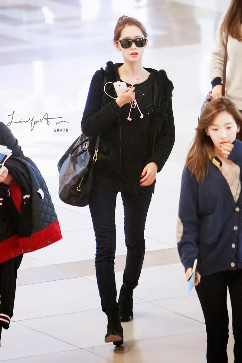 Girls 39 Generation Airport Fashion Into K Pop World