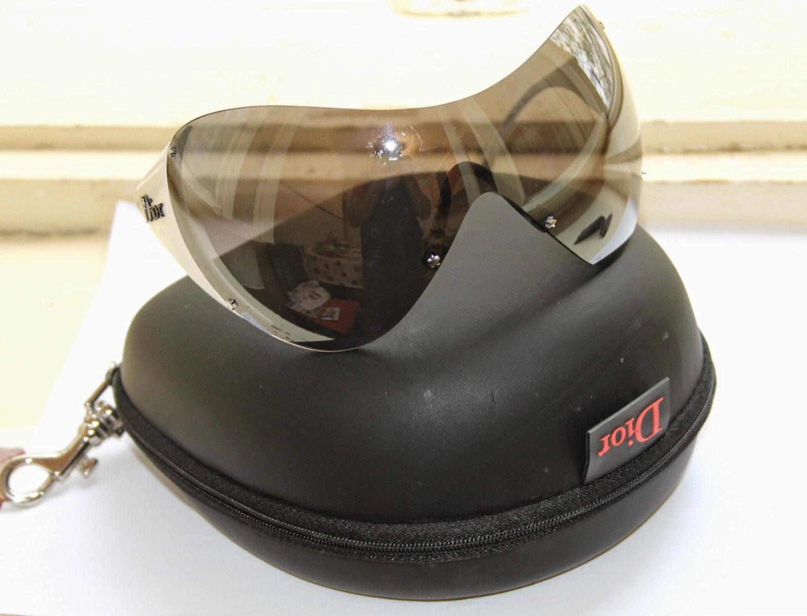 9c464cb458 secondhandsunglasses  Christian Dior Ski1 9A5 Sunglasses Sport Ski ...