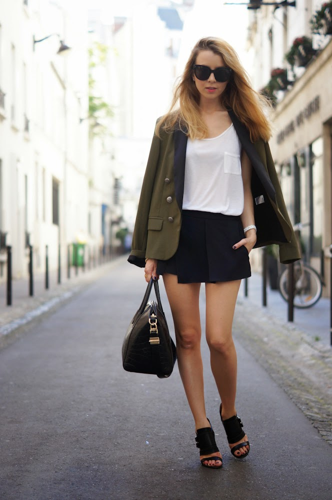 Iro, givenchy, chanel, streetstyle, chic,paris, parisienne, military, outfit, luxury, fashion blogger
