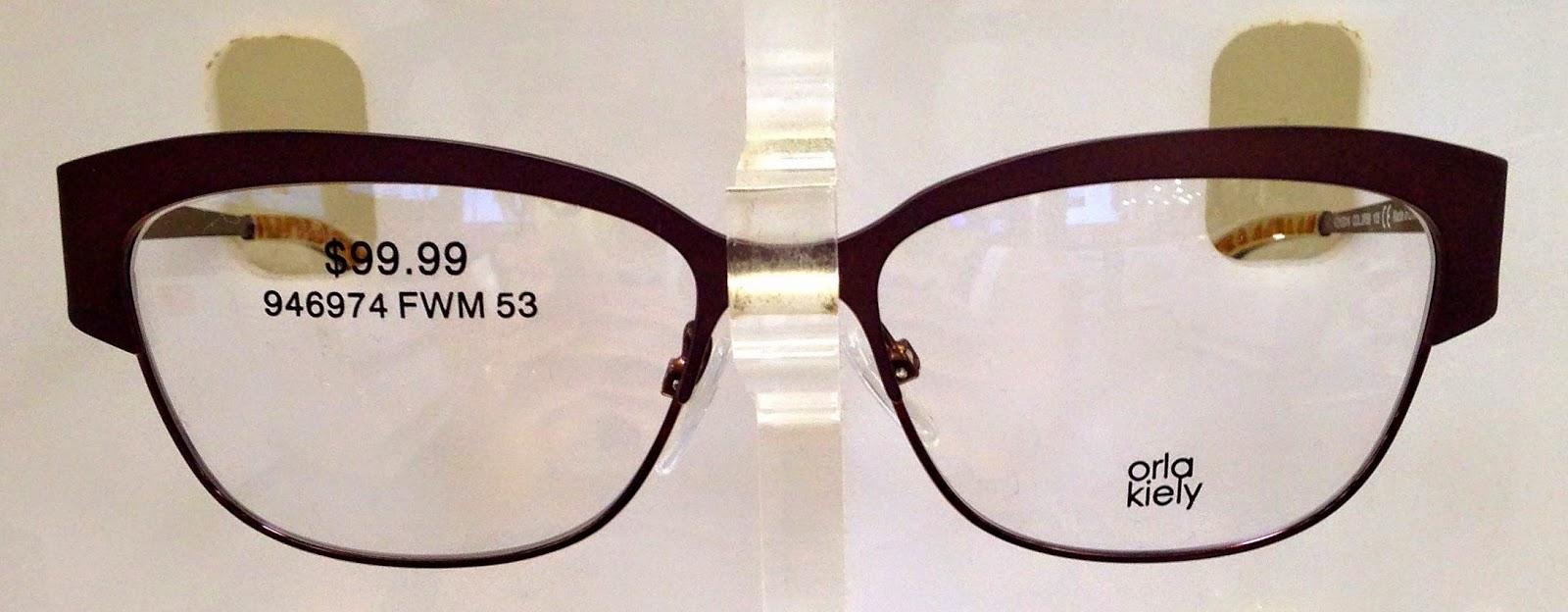 i orla kiely new orla kiely eyeglasses at costco