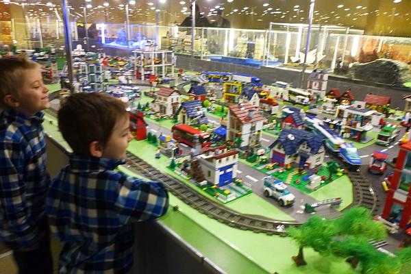 Wystawa budowli z klocków Lego w Bielsku-Białej