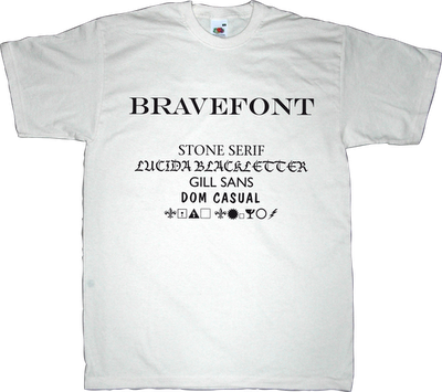 font typography typeface fun movie t-shirt ephemeral-t-shirts