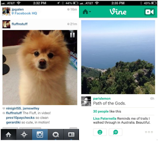 Differences Vine and Instagram Video