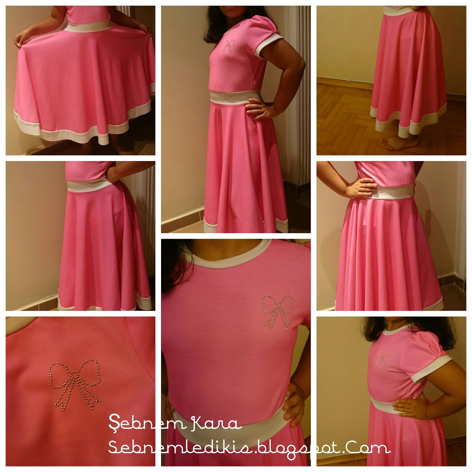 9 yaş kız çocuk için elbise modelleri
