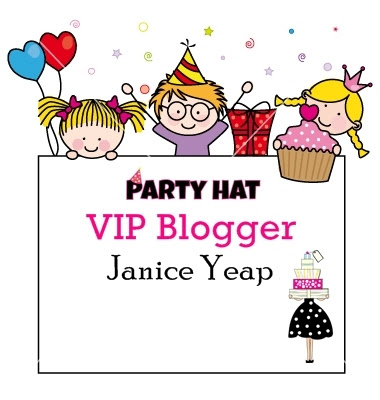 Party Hat VIP Blogger ❤