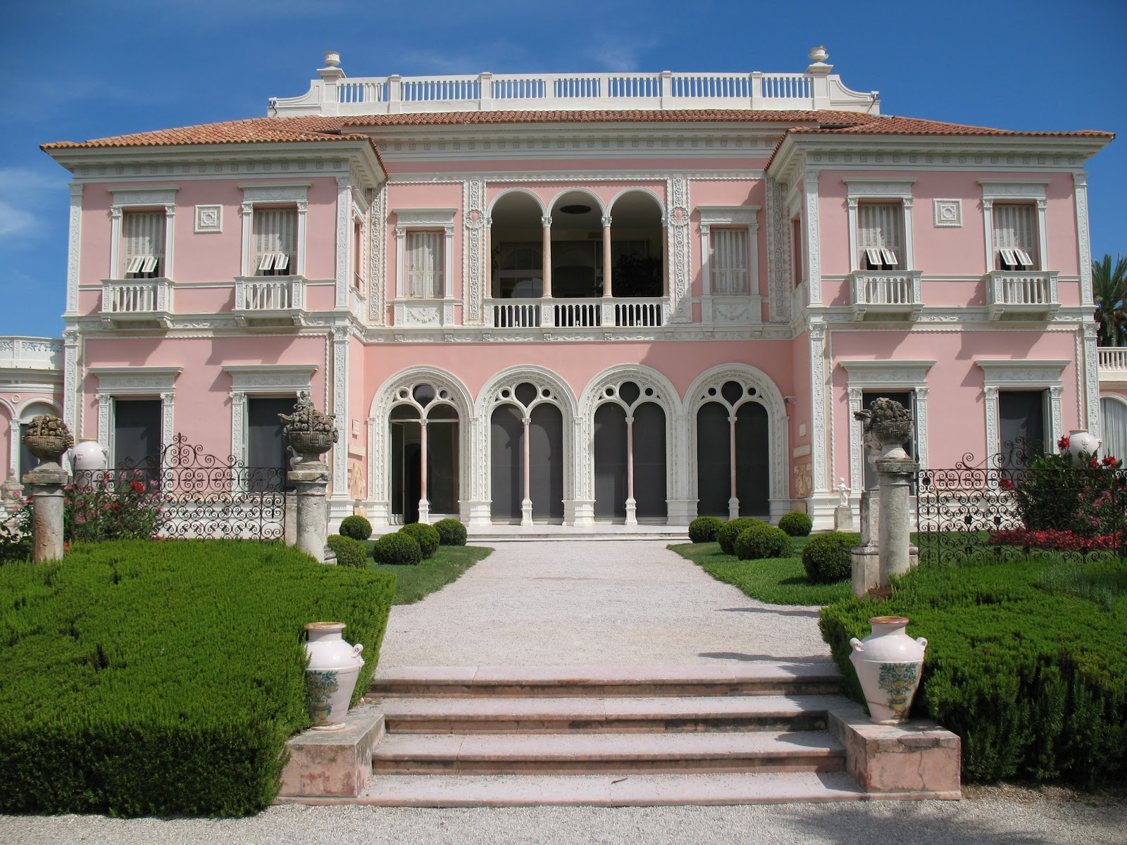 Roses du jardin ch neland villa ephrussi de rothschild - Jardins ephrussi de rothschild ...