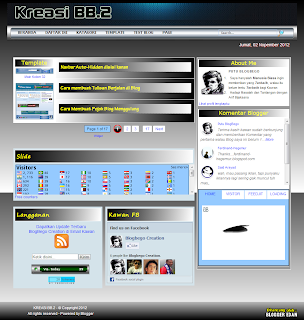 Blogger Template Kreasi BB.2 Gratis