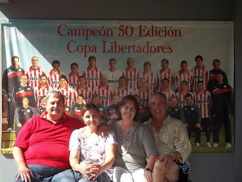 Claudia y Carlos Fernández en Tres Algarrobos