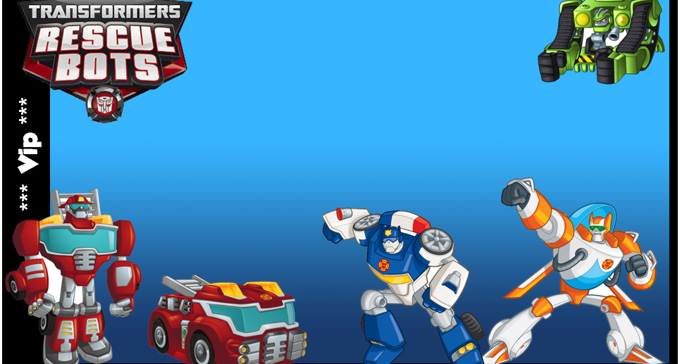 transformers rescue bots  free printable kit