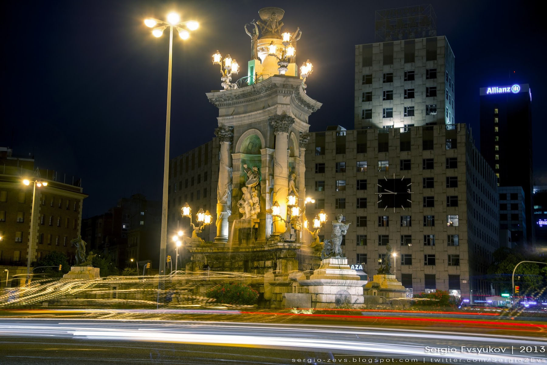 fountain by Josep Maria Jujol in Barcelona