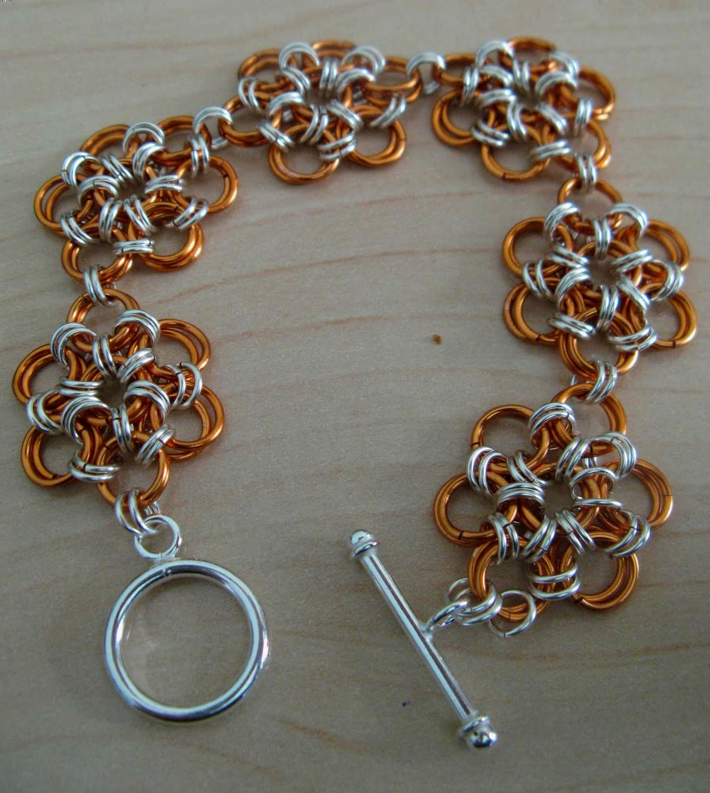 Scale+maille+bracelet