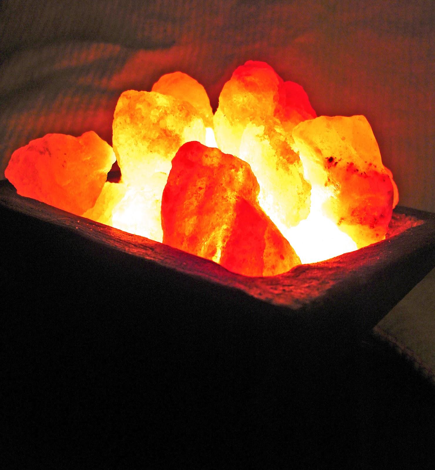 Kinnari l mparas de sal del himalaya - Lamparas de sal para que sirven ...
