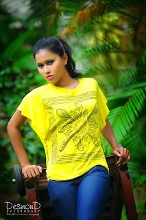 Model Chathu Paba Dilhara