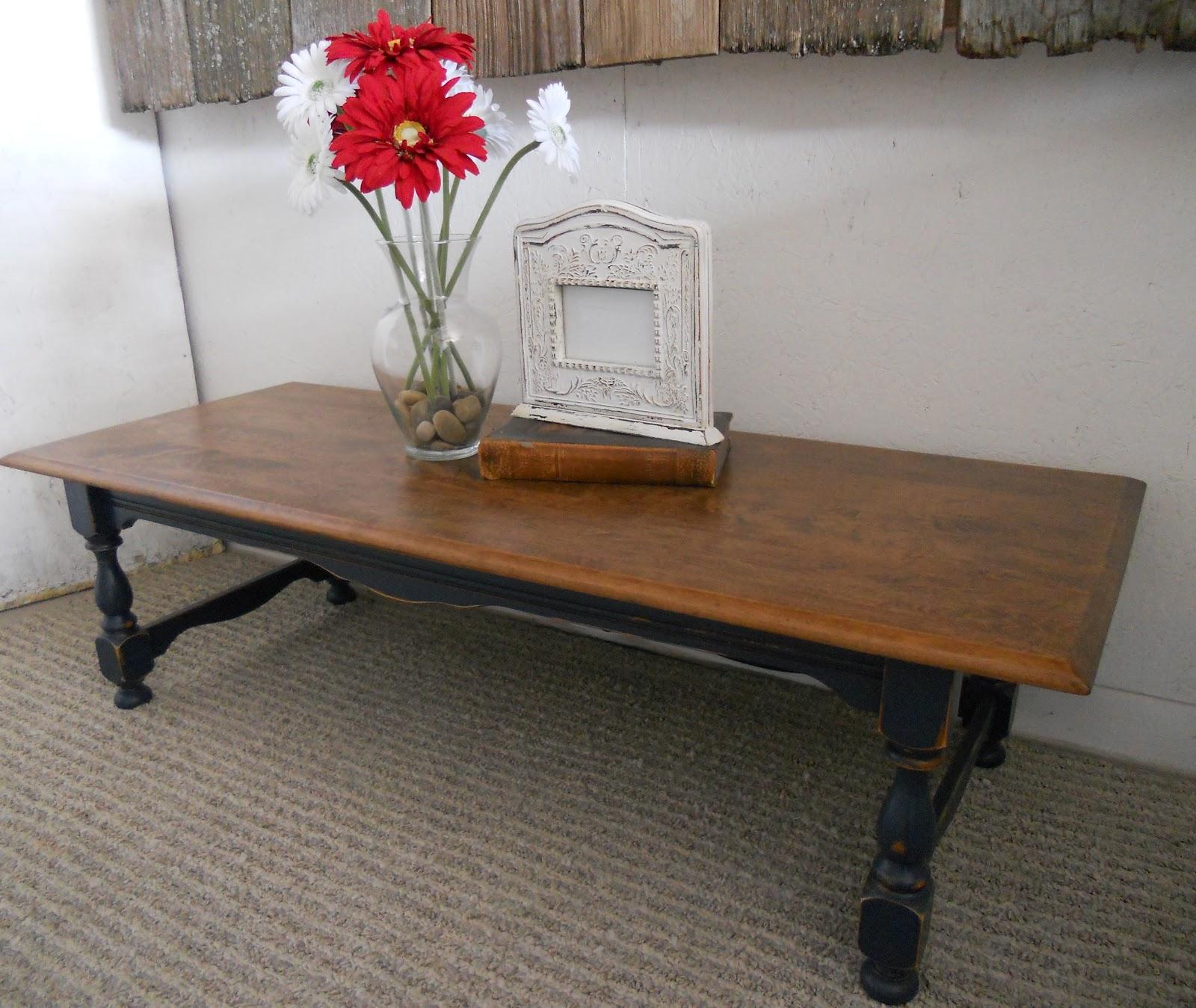 createinspire Navy Coffee Table