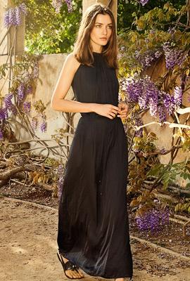 vestido largo primavera verano 2013 Massimo Dutti