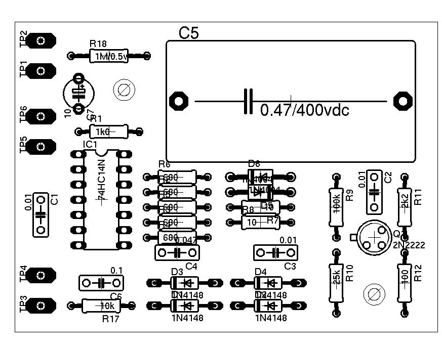 equivalent series resistance meter  esr meter