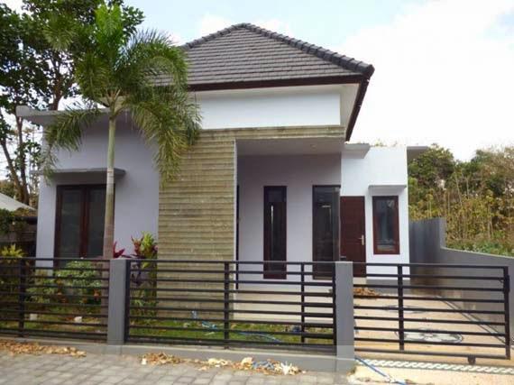 Gambar Rumah Sederhana Elegan Tampak Depan