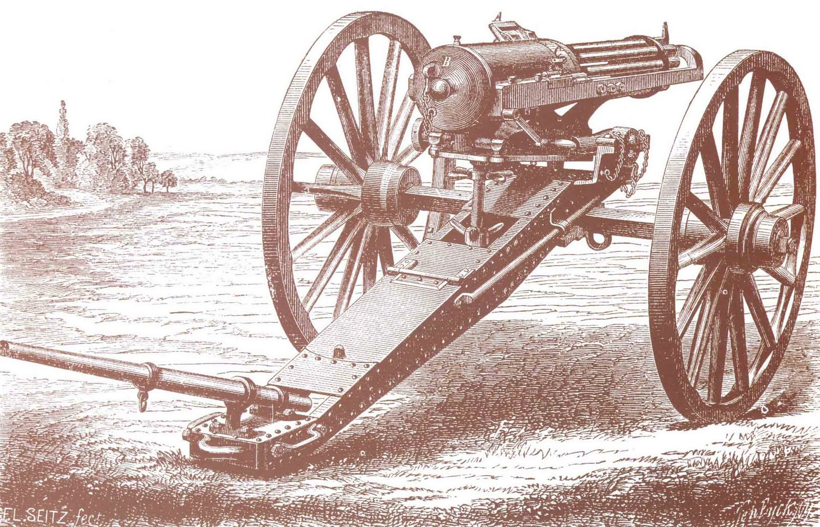The Gatling Gun Term paper
