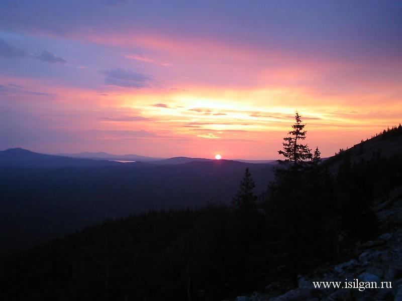 Гора Большой Уван. Национальный парк Зюраткуль. Челябинская область