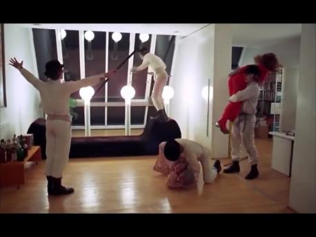 Clockwork Orange Rap Scene