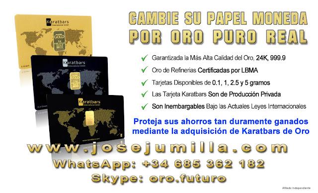 Cambie su papel moneda por oro puro