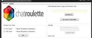 Chatroulette Premium Token Generator