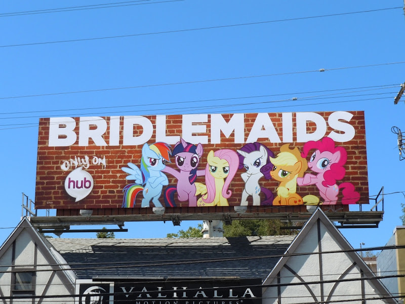 Bridlemaids parody billboard
