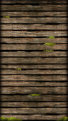 Moss Hard Wood iPhone 5 Home Screen Wallpaper