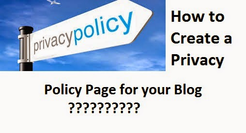 Learn to create a free Privacy Policy Page for free online