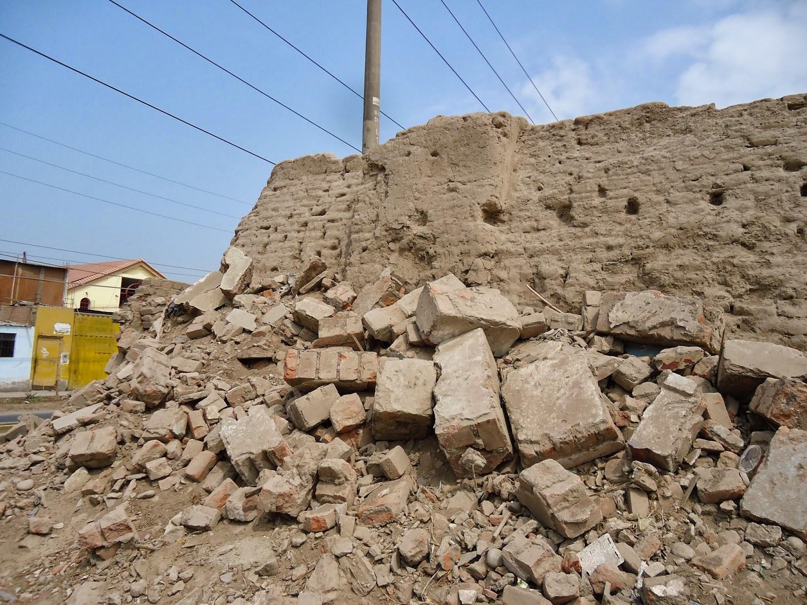 Arqueolog a colonial casa hacienda santa rosa distrito for Piani casa adobe hacienda
