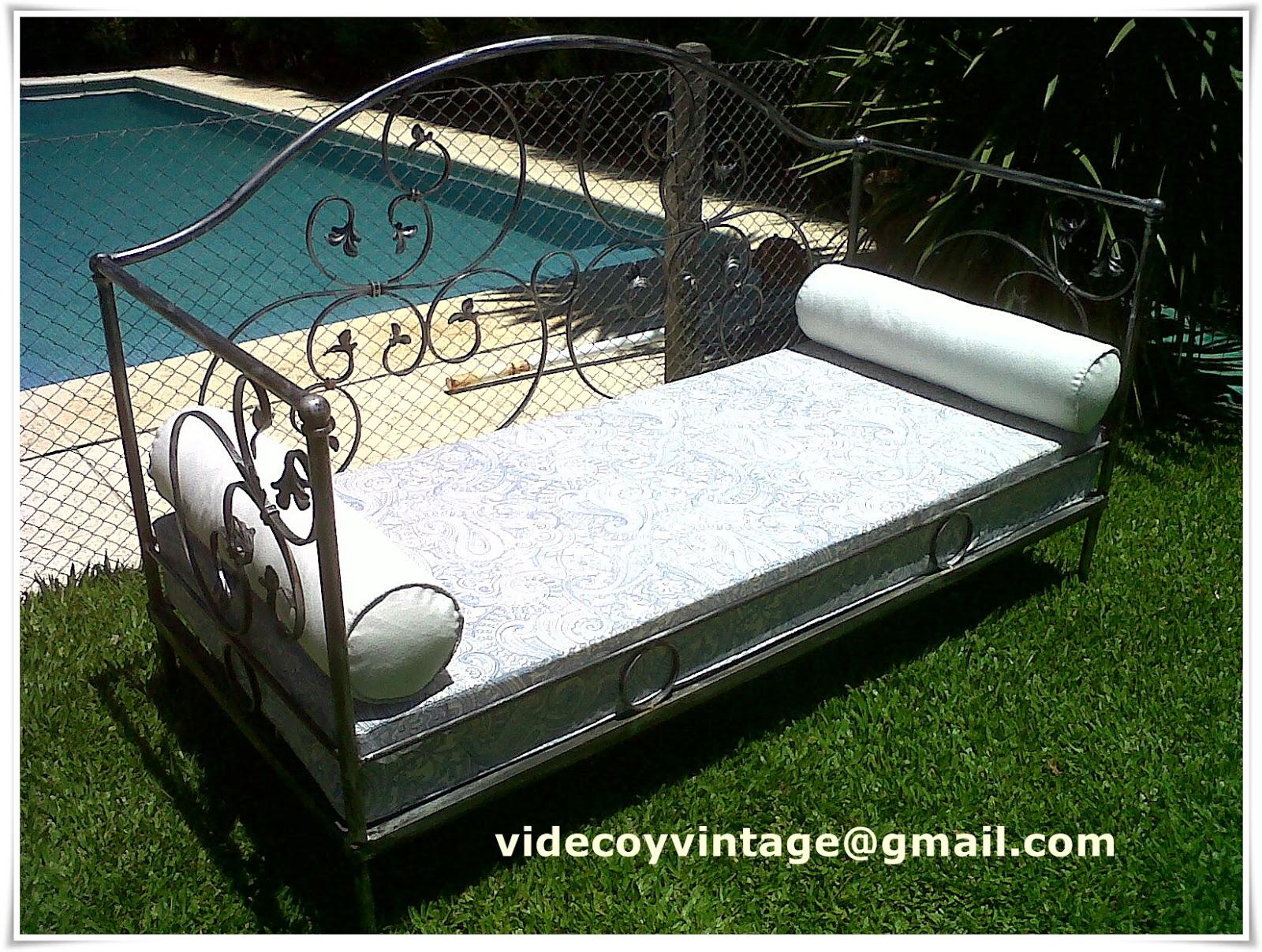 Videcoyvintage deco sillones en hierro 2da parte for Almohadones para sillones jardin