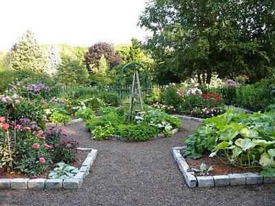 Potager design for Potager garden designs