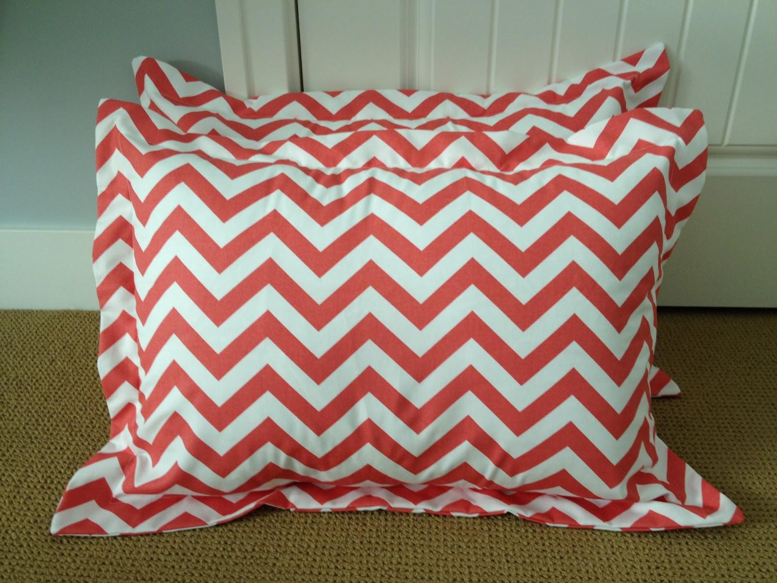 & Cora Anne Designs: DIY Pillow Sham Tutorial pillowsntoast.com