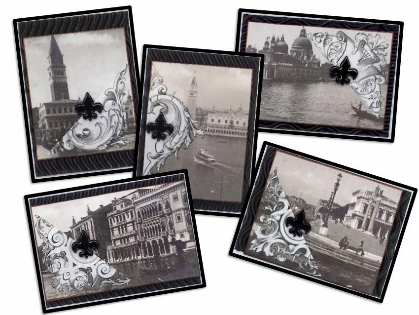 vintage inspired artist trading cards