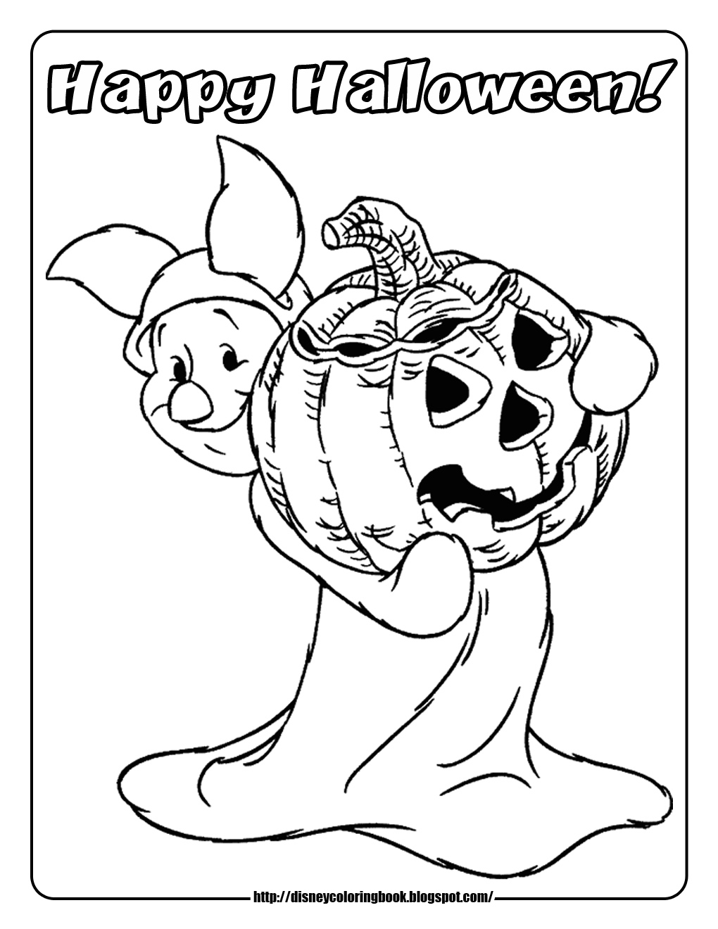 Pooh and Friends Halloween 1 : Free Disney Halloween ...