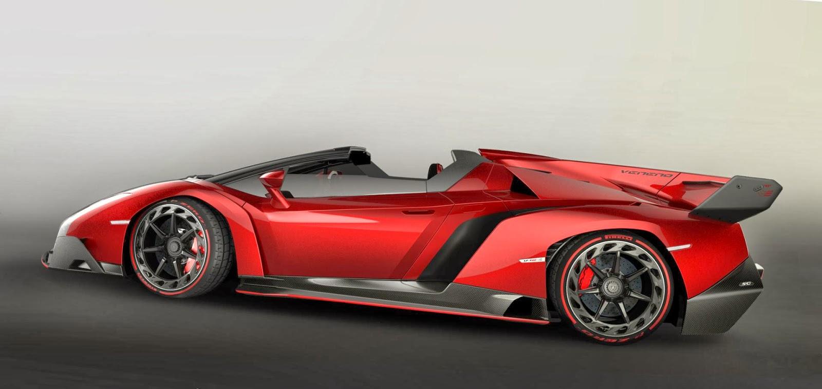 Lamborghini Veneno Roadster 2013 Hottest Car Wallpapers