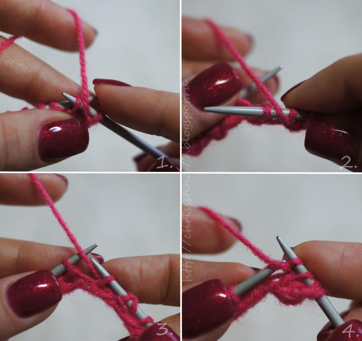 Начинаем вязать Видео уроки вязания » Вязание 47