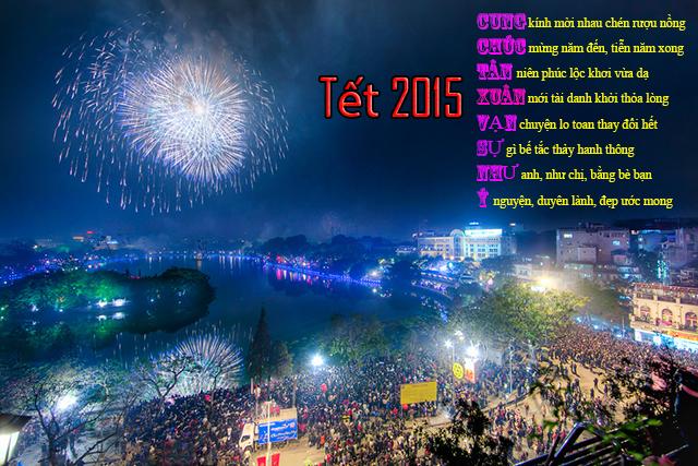 Hình ảnh đẹp về tết 2015, chúc tết nguyên đán