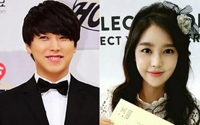 Sungmin Super Junior dan Kim Sa Eun