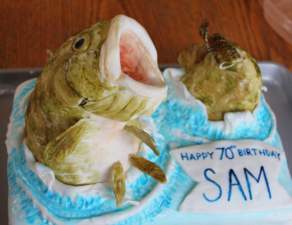 Squish Dads Birthday Cake