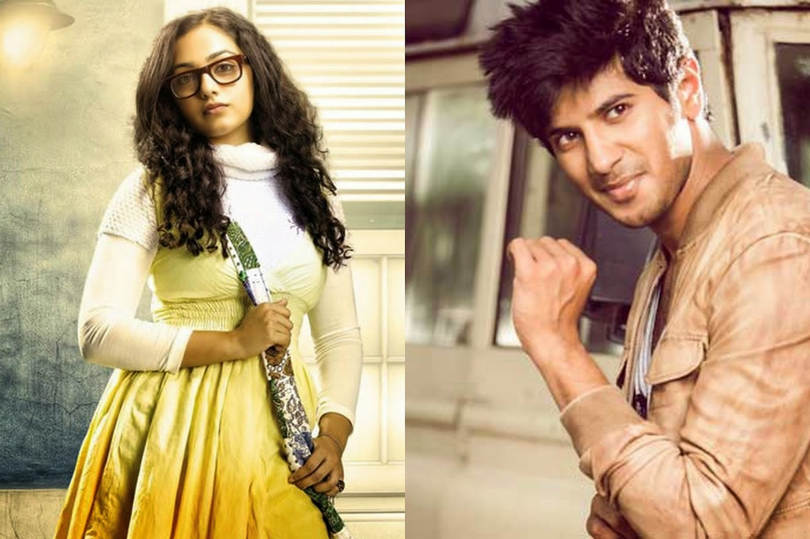 Dulquar Salman and Nithya Menon