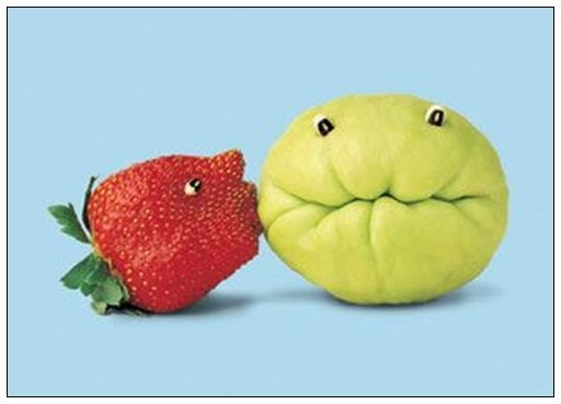 funny fruit. Fruit amp; Vegetable Art