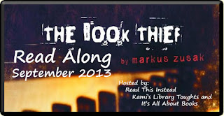 Book Thief Read Along Markus Zusak
