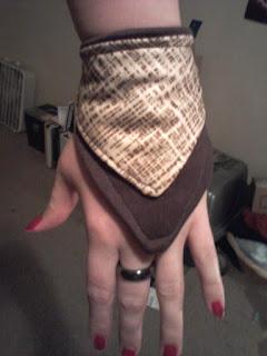 Brown Wallet Glove