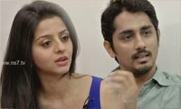 Siddharath and Vedhicka on their New movie Kaaviya Thalaivan