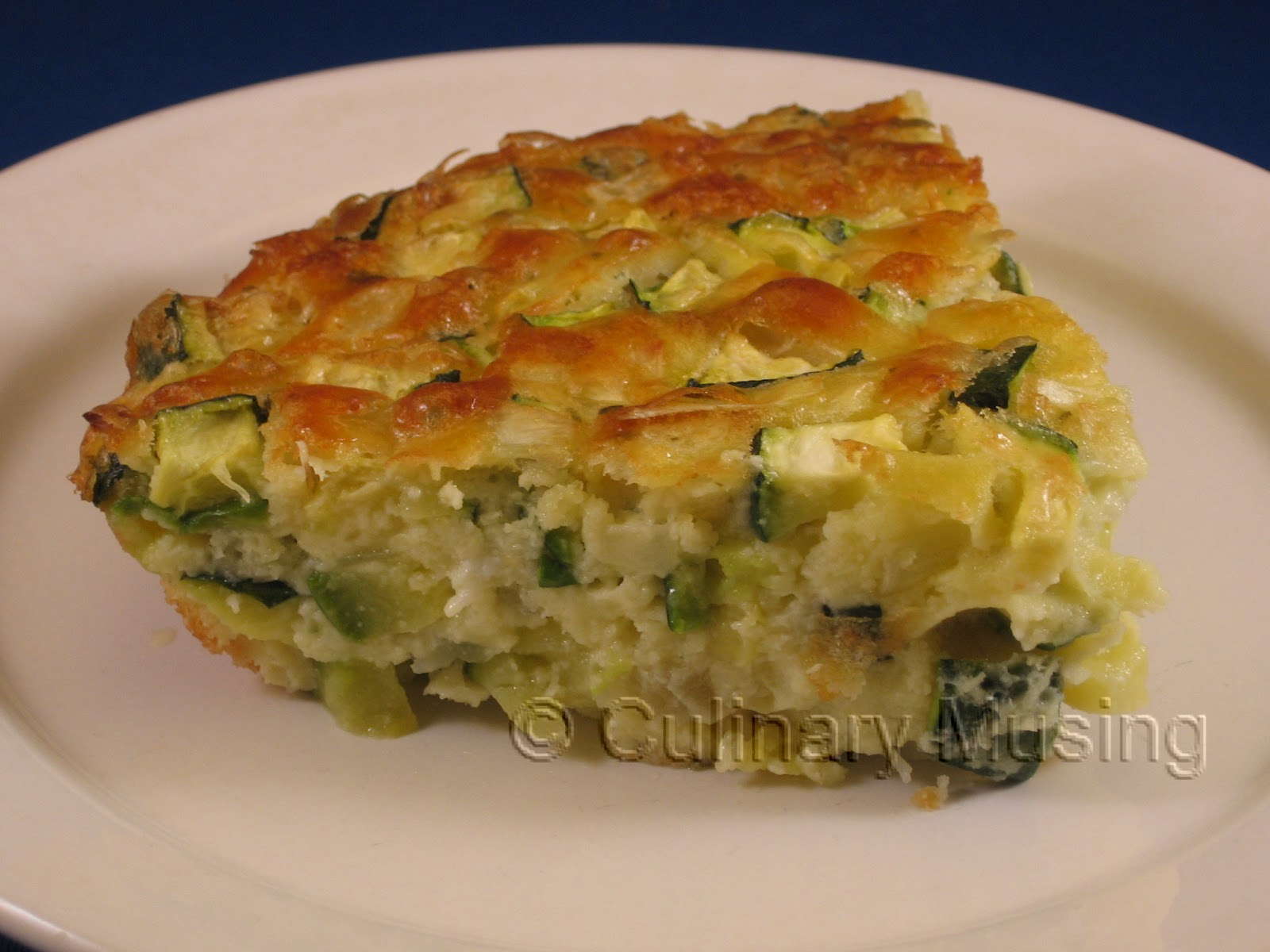 Culinary musing of a silicon valley mom zucchini pie for Atkins cuisine all purpose baking mix where to buy
