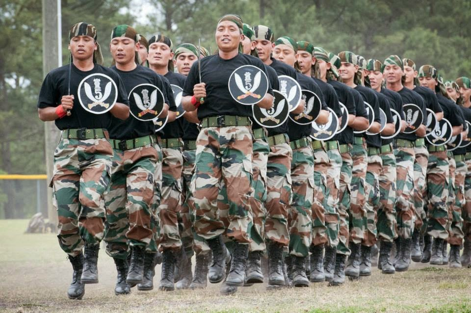 Gorkhas in the Indian Army